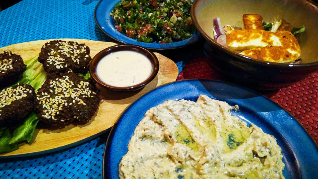 Aziza in Kennedy Town had us licking the plates with its amazing Egyptian food