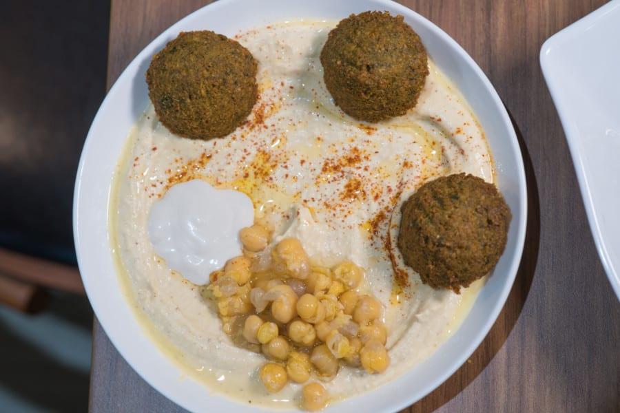 Falafel TLV hummus Israel Middle Eastern Graham Street Central restaurant food