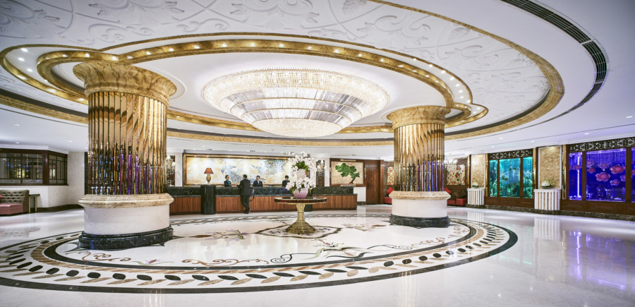 Windsor Plaza Hotel Saigon lobby