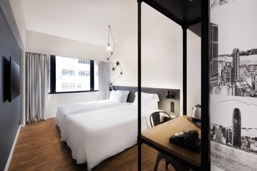 Pentahotel Hong Kong Tuen Mun boutique design hotel New Territories standard room