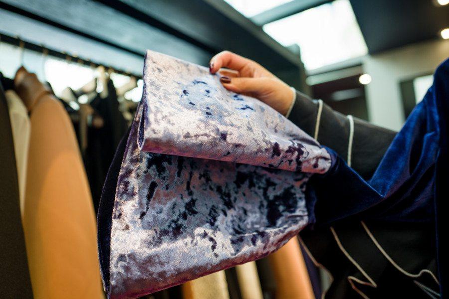 Sarah Lai Sarah Lai Label fashion designer Hong Kong Romance Reborn crush velvet