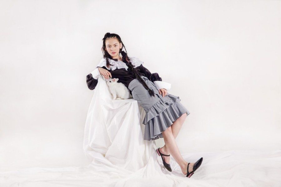 Sarah Lai Sarah Lai Label fashion designer Hong Kong Romance Reborn series one