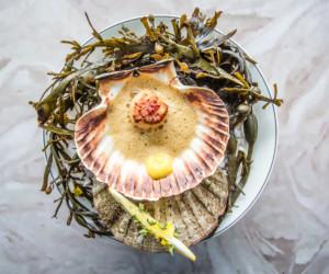 Taste of Hong Kong food festival oyster dish