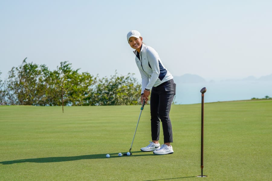 Golfer Tiffany Chan: The first ever player in Hong Kong to qualify for the LPGA Tour