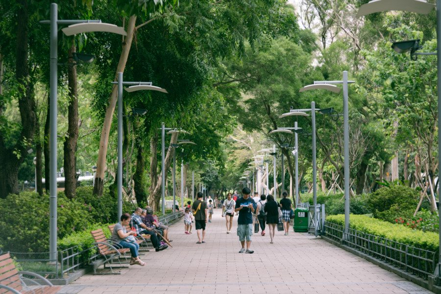 Take a break from the cityscape and explore some of the nicest public parks in Hong Kong