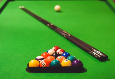 where to play pool in Hong Kong pool table