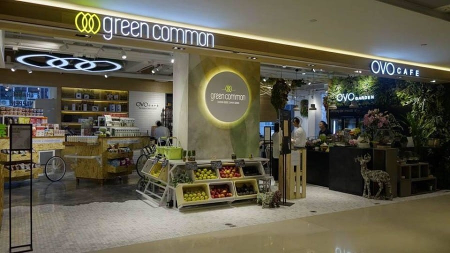 health food stores in hong kong green common