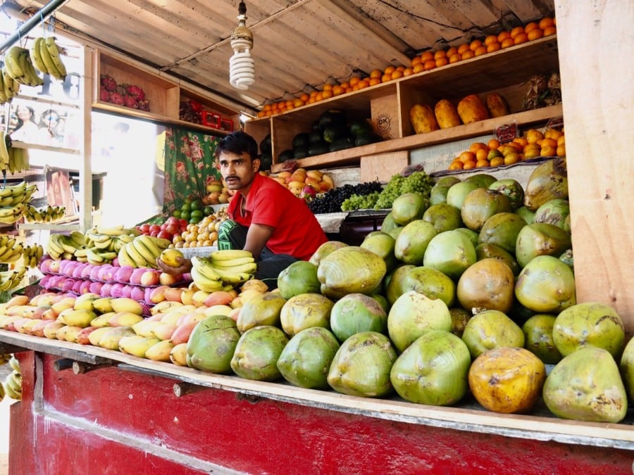Mauritius from Hong Kong Mauritius fruit stall