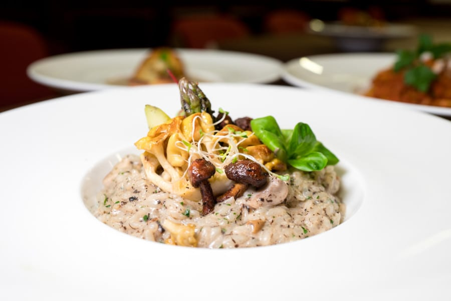Mirror & Vegan Concept vegan vegetarian restaurant Hong Kong risotto