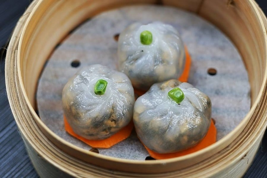 Vegelink vegan vegetarian restaurants in North Point dim sum in Hong Kong dumplings