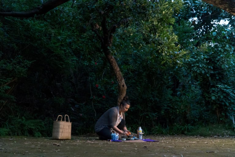 Founded by Jasmine Nunns, Kembali offers forest therapy walks in spots throughout the city