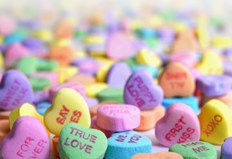romantic gifts heart candy