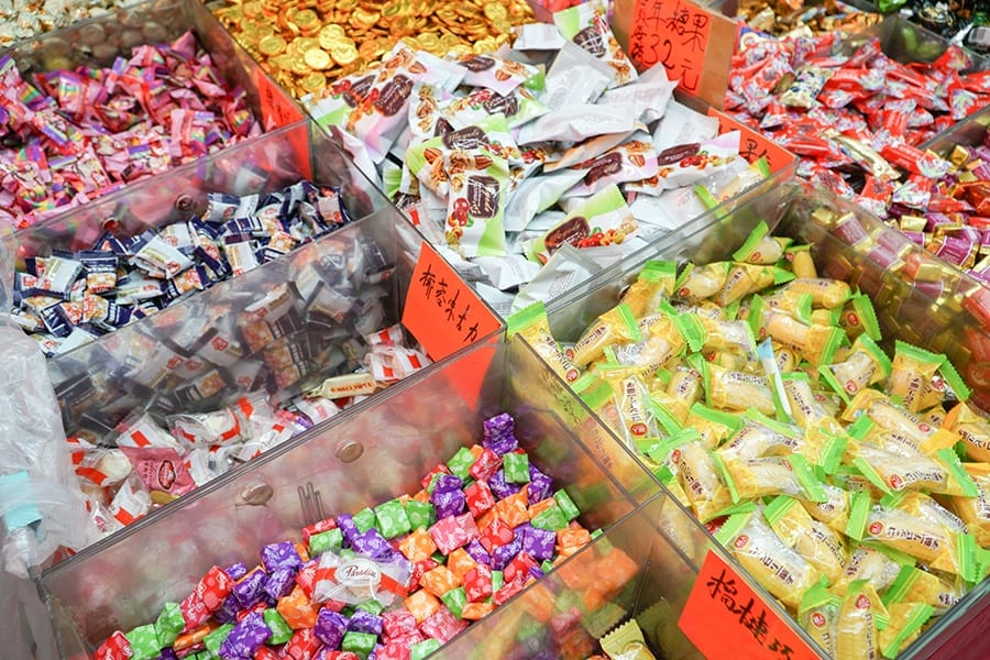 Chinese New Year food candy