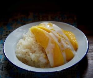 Khao Niaw Mamuang mango sticky rice Chachawan Taste of Hong Kong