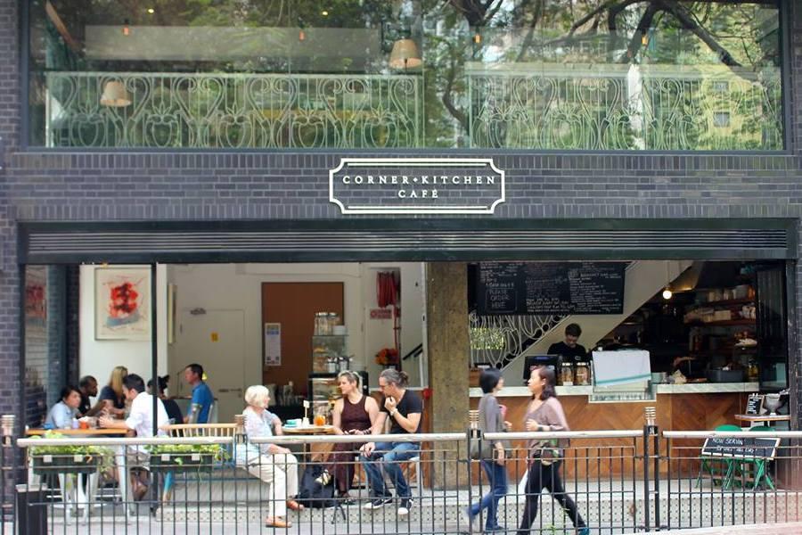 exterior corner Kitchen