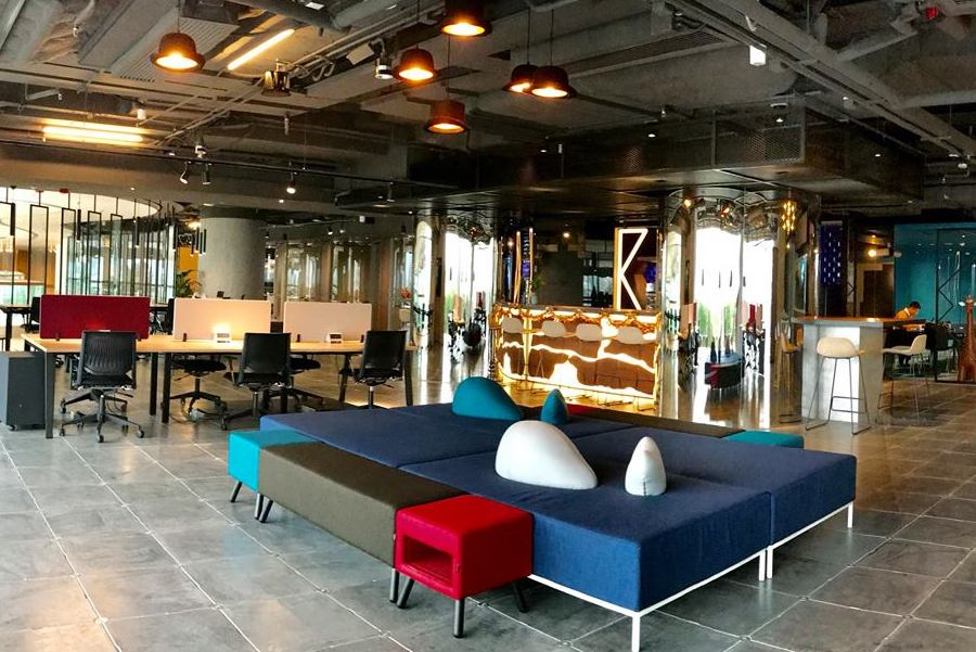 coworking spaces in Hong kong Kafun interior
