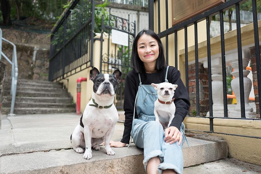 Meimei and Snowy Sheung Wan