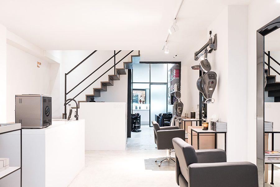 Get pampered at SHHH, a hair salon on Hollywood Road in Sheung Wan