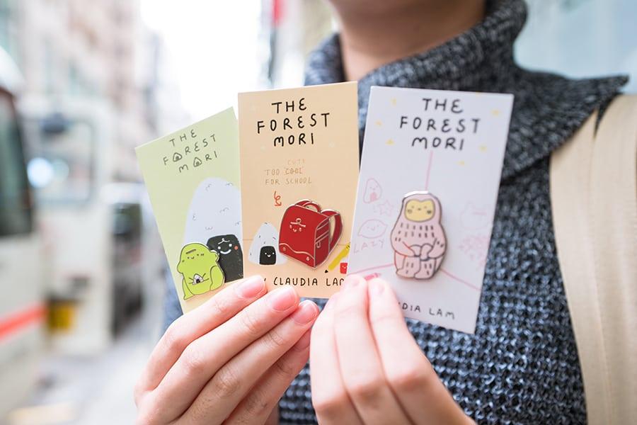 The Forest Mori Claudia Lam Hong Kong Perth Etsy pins