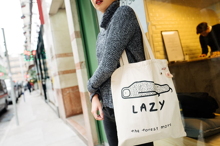 The Forest Mori Claudia Lam Hong Kong Perth Etsy tote bag