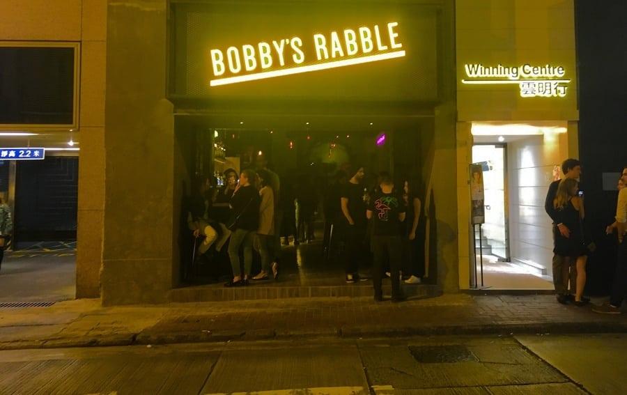 best bars in Hong Kong Bobbys Rabble beer cocktails wine