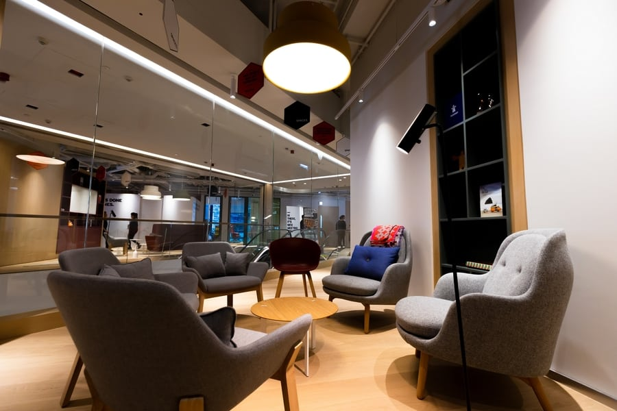 coworking spaces in Hong Kong Spaces interior