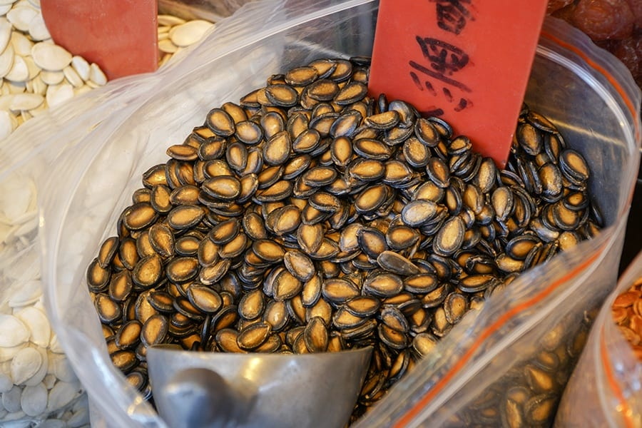 Chinese New Year food melon seeds