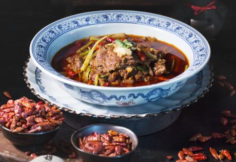 7 Chillies Menu Hutong Angus beef broth