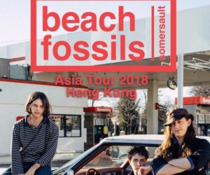 Beach Fossils Somersault Hong Kong live Post Wave Music thud opposite opposite