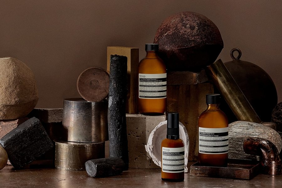 vegan skincare in Hong Kong beauty products to buy in Hong Kong Aesop In two minds collection