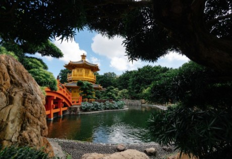 Chi Lin Nunnery Pavillion