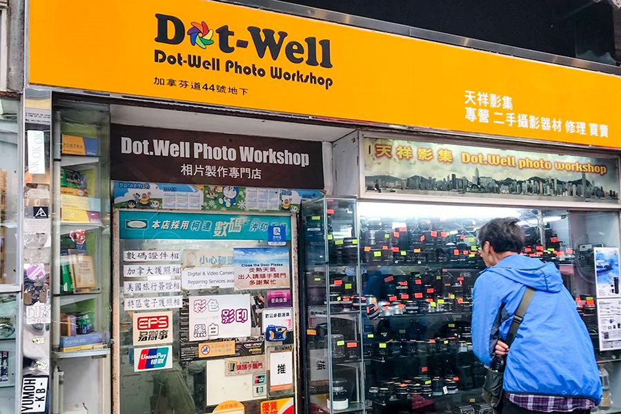 Dot well photo workshop film camera analog photography