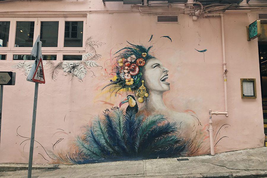 Hong Kong Street Art Hollywood Road Sheung Wan