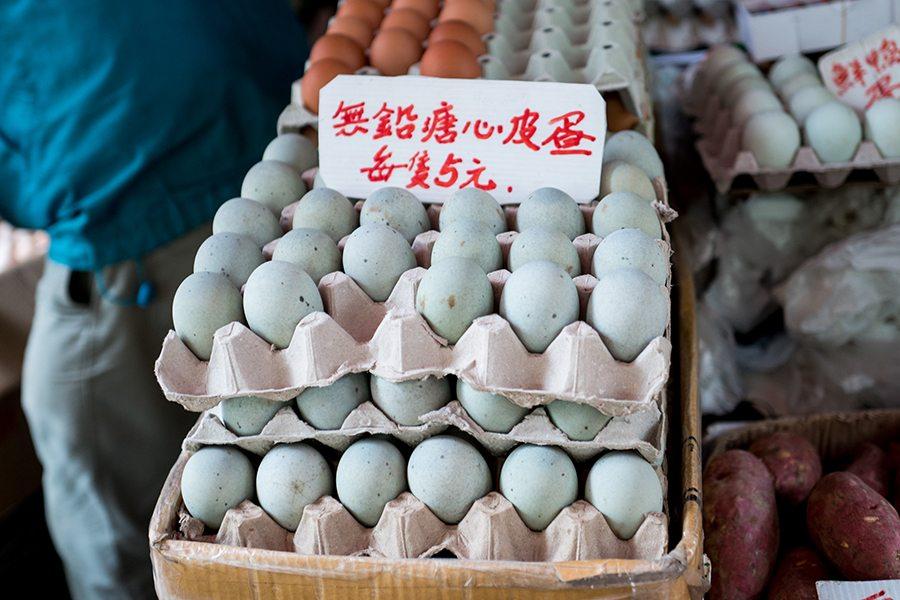 Hong Kong eggs century eggs