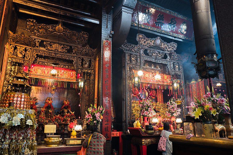 Hong Kong temples Kwun Yum Temple in Hung Hom