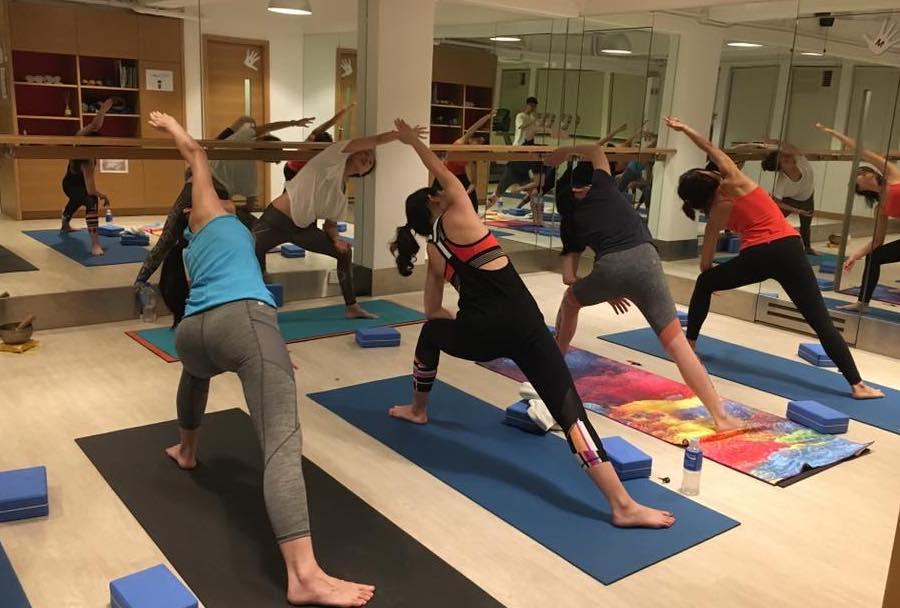 Infiniti Fit yoga studios in Hong Kong
