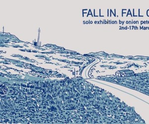 Onion Peterman Fall in Fall out solo exhibition