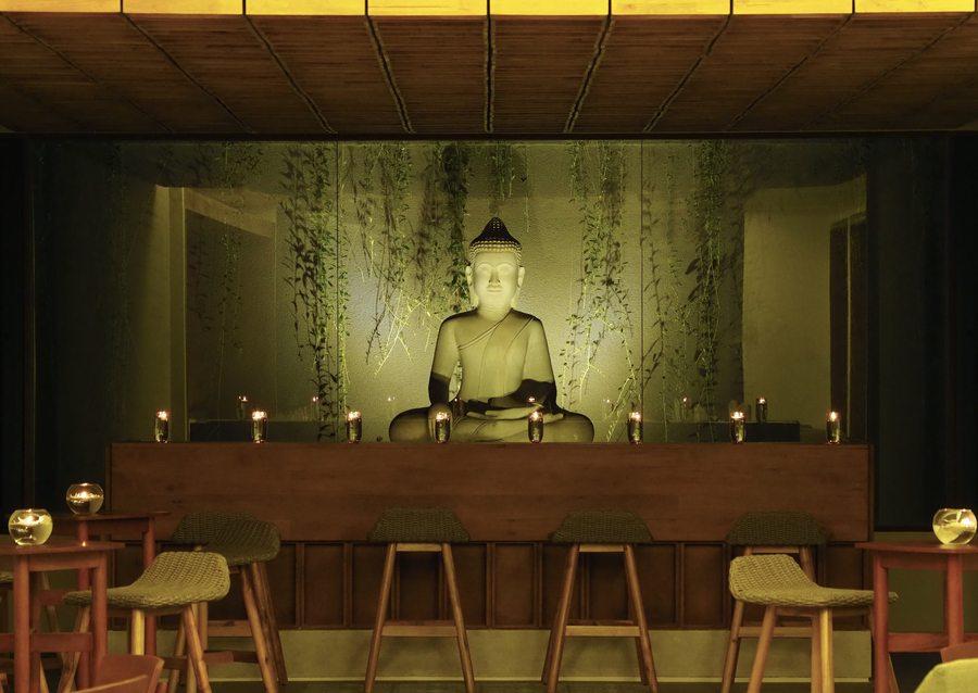 The Bale Phnom Penh Cambodia resort Theato restaurant interior