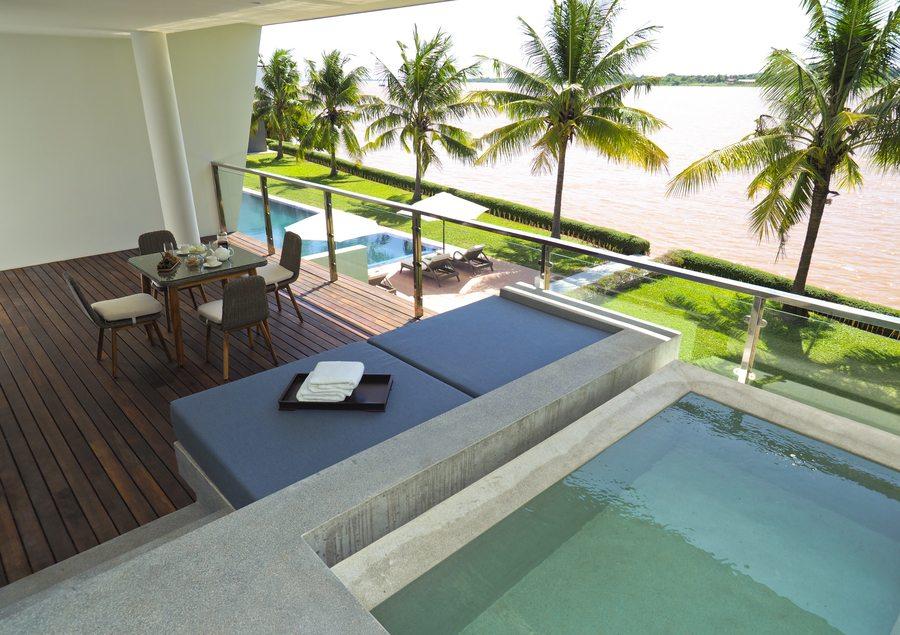 The Bale Phnom Penh Riverfront Suite