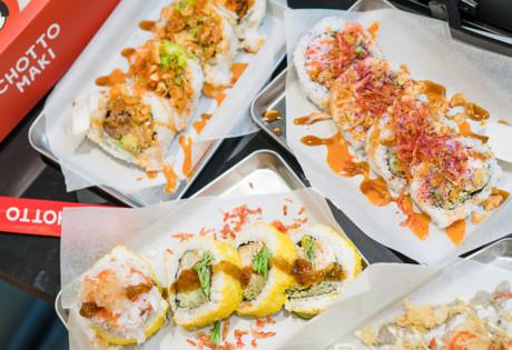 new restaurants in Hong Kong chotto maki sushi