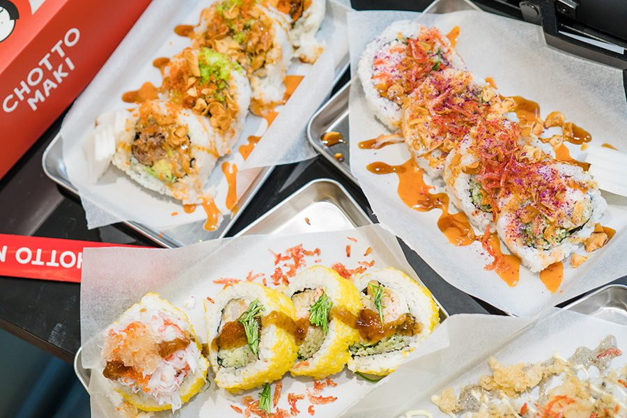 Craving some big fat sushi rolls? Indulge in scrumptious sushi at Chotto Maki in Central