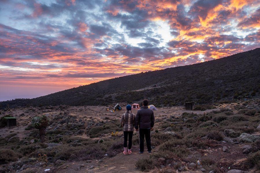 climbing Mount Kilimanjaro Melanie Cox and Glenn Cox