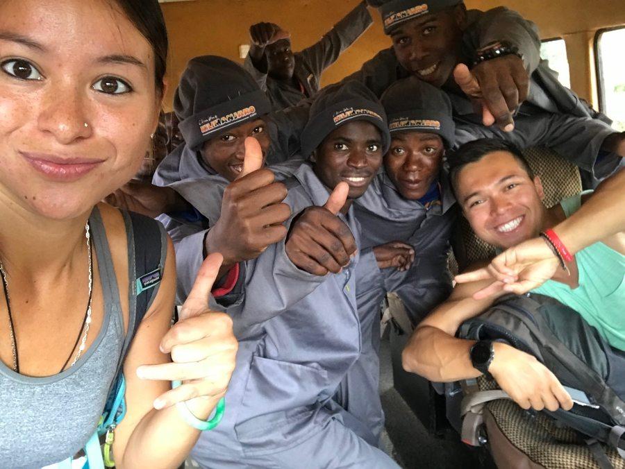 climbing Mount Kilimanjaro Melanie Cox porters and guide