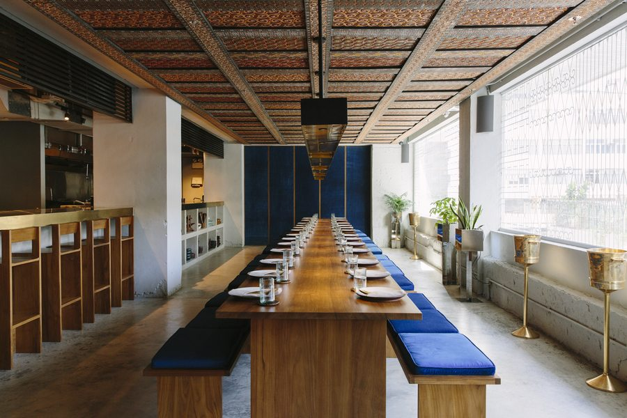 design restaurants Hong Kong interiors Potato Head