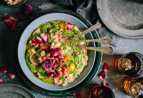 new restaurants in Hong kong green hummus