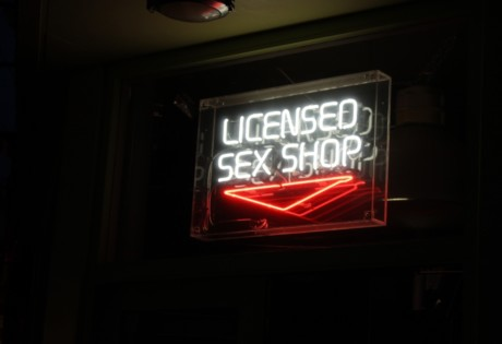 sex shops adults stores toys neon sign