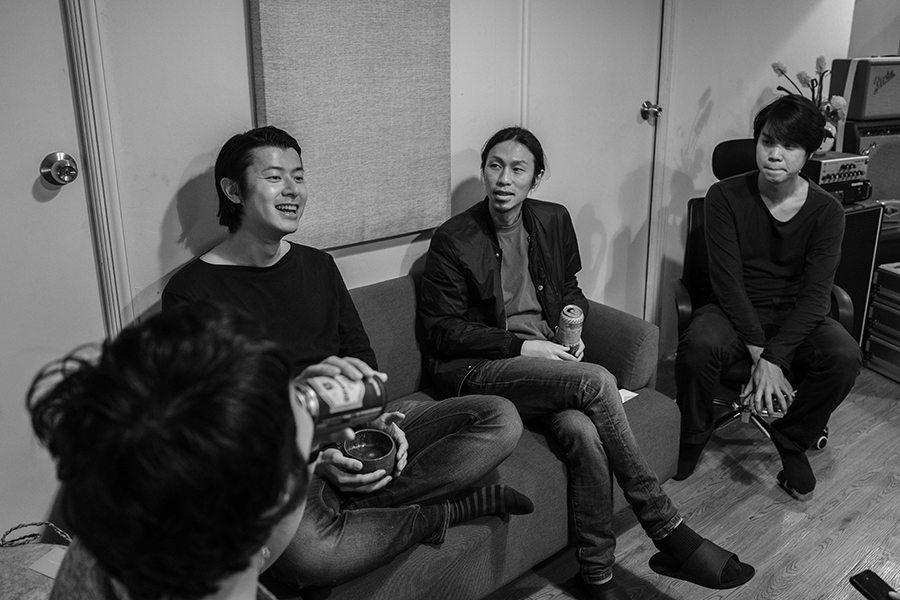 Life was All Silence Hong Kong post rock band interview band room