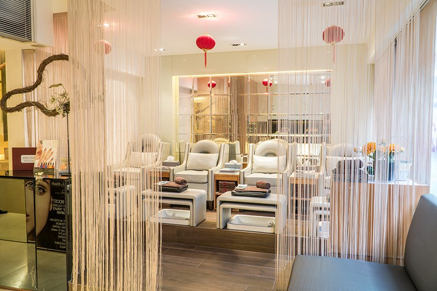 Sense of Touch Hong Kong spa manicure and pedicure
