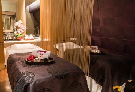 Sense of Touch Hong Kong spa massage room