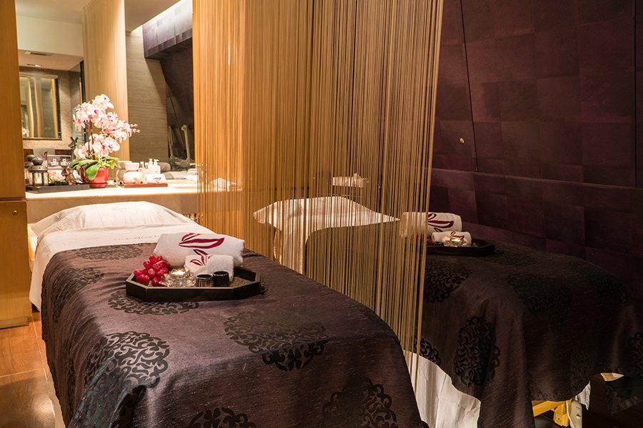 Sense of Touch Hong Kong spa massage room